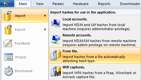 Import hashes